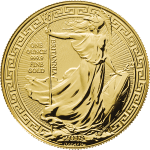 Royal Mint Gold 2018 Britannia with Oriental Border