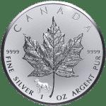 Silver Maple Leaf with 2018 Lunar Privy Mark - Year of the Dog