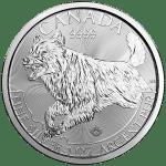 Royal Canadian Mint Predator Series - Wolf - Silver Bullion