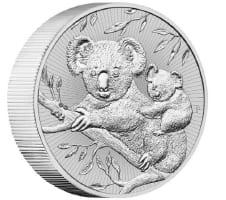 10 oz Silver Piedfort Coin